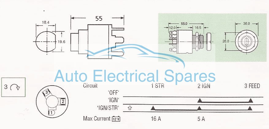 Lucas 128sa ignition switch wiring diagram 3 best site wiring diagram cheapraybanclubmaster Images